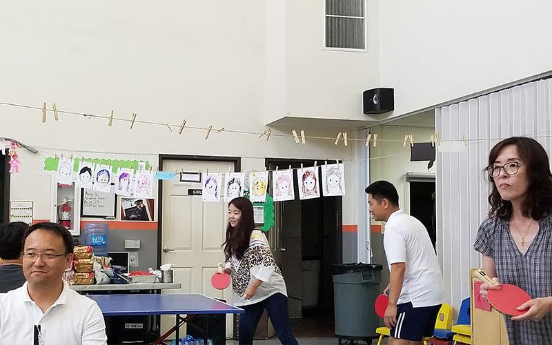 2019 광복기념주일 탁구대회