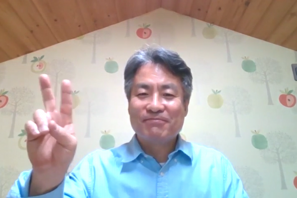 구영모 담임목사님 한국에서 영상목회서신