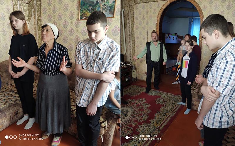 알렉산드르 가정교회 예배