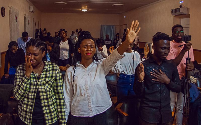 기독학생운동 집회